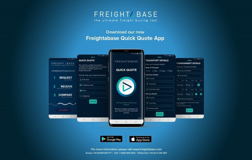 Freightabase app