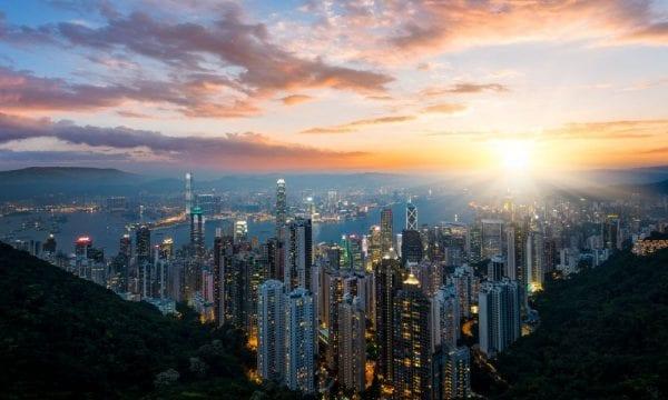 Hong Kong harbour e