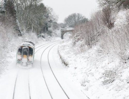 What UK snowfall means for rail freight…