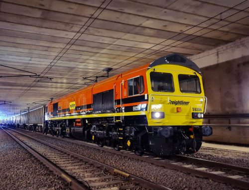 Freightliner continues to haul vital construction materials for Mendip Rail