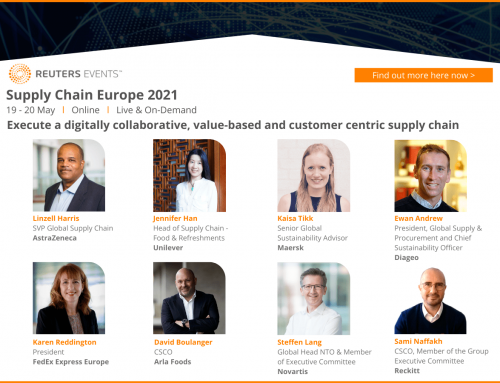 Supply Chain Europe 2021 returns on 19-20 May, online